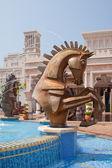 Horse Fountain — Foto Stock