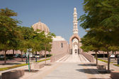 Sultan Qaboosh Mosque — Stock Photo