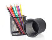 Ołówki w Pucharze — Zdjęcie stockowe