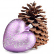 Stock Photo: Heart and cone