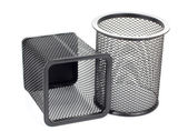 Metal baskets — Stock Photo
