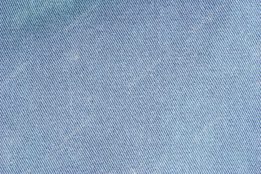 纹理条纹的蓝色牛仔裤牛仔亚麻织物背景