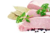 Mięso natką pietruszki — Zdjęcie stockowe