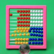 Abacus background — Stock Photo