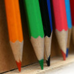 Pencil background — Stock Photo