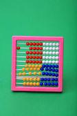 Abacus achtergrond — Stockfoto