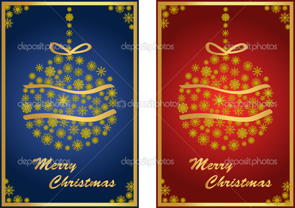 Christmas balls with star and decoration   Stock Vector #7441032