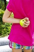 Hidden apple — Stock Photo