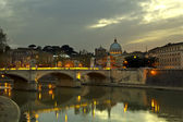 Dusk in Rome — Stock Photo
