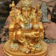 Golden Ganesha — Stock Photo