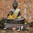 Stock Photo: Bronze Buddha
