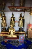 Golden Buddhas — ストック写真
