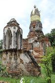 Brick stupas — Stock Photo