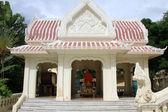 Templo del buda de blanco n — Foto de Stock