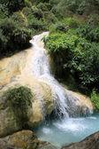 Waterfall and pool — Stock Photo