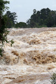 Sompamit waterfall — Stock Photo