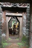 寺院のドア — ストック写真