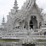 Wat Rong Khun near Chiang Rai — Stock Photo #7478594