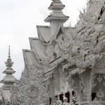 Wat Rong Khun near Chiang Rai — Stock Photo #7478603