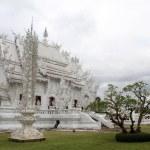 Wat Rong Khun near Chiang Rai — Stock Photo #7478681