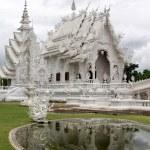 Wat Rong Khun near Chiang Rai — Stock Photo #7478731