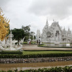 Wat Rong Khun near Chiang Rai — Stock Photo #7478822