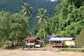 Village near Vang Vieng, Laos — Stock Photo