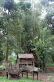 Village near Vang Vieng, Laos — Stock Photo