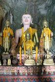 Buddha in cave — ストック写真
