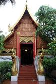 Temple in Wat Phra Keo in Chiang Rai — Stock Photo