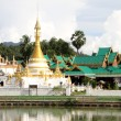 Wat Chong Klang, Mae Hong Son — Stock Photo #7480571