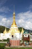 Wat Chong Klang, Mae Hong Son — Stock Photo