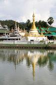 Wat Chong Kham, Mae Hong Son — Stock Photo