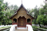 Small wooden temple — Stock Photo
