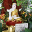 Shrine with Buddha — Stock Photo