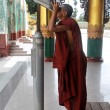 Stock Photo: Monk tourist