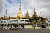 Pagoda Sule — Stock Photo