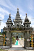 Gate of temple — Stock Photo