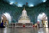 Stupa inside pagoda — Zdjęcie stockowe