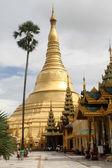 Shwe Dagon paya — Stock Photo