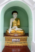 Buddha in pagoda — Stock Photo