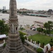View from wat Arun — Stock Photo