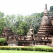 Ruins of wat Mahathat — Stock Photo #7527870