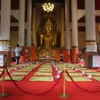 Monks on the red carpet - Photo