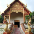 Temple in Wat Phra That Doi Ngam Muang, Chiang Rai, Thailand - Zdjęcie stockowe