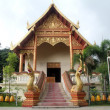 Temple in Wat Phra That Doi Ngam Muang, Chiang Rai, Thailand — Stock Photo