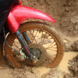 Motorbike wheel — Stock Photo #7529215