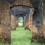 Ruins of brick temple — Stock Photo #7529353