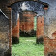 Ruins of brick temple — Stock Photo