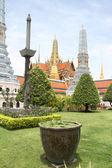 świątyni, w pobliżu pałacu królewskiego — Zdjęcie stockowe